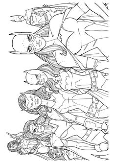 free printable coloring page Wonder Woman 39 (Cartoons