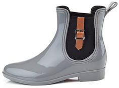 Henry Ferrera Women's Clarity Sky 7 Inches (Over the Ankle) Rubber Rainboot and Gardenboot with Comfortable Insole *** Unbelievable outdoor item right here! : Rain boots