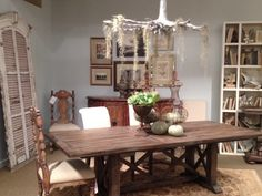 Accentrics Home Accent Dining Accent Furniture, Home Accents, Dining Table, Rustic, Home Decor, Country Primitive, Decoration Home, Rustic Feel, Room Decor