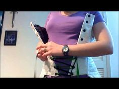 Lock Lacing Your Corset: Generations of Art - YouTube