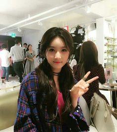 Hi School Love On, High School, Korean Celebrities, Beautiful Asian Women, Korean Actresses, Korean Beauty, Girl Crushes, Asian Woman, Girl Group
