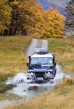 Exploring Arrowtown, cross country style! #outdoors #landrover