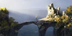 Old bridge by *DmitryGrebenkov on deviantART