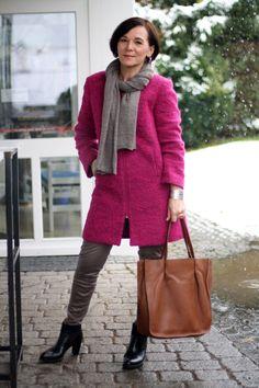 Winterlook in lässiger Eleganz aus der neuen #Tchibo Kollektion