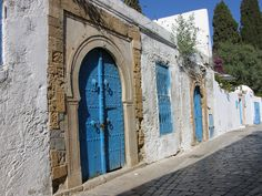 Sidi Bou Saïd a Tuníssia