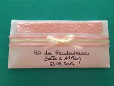 """""""Freudentränentuch - For the tears of joy"""" made by #WeddingLightsBerlin  #braut2014 #hochzeit #brautaccessoires"""