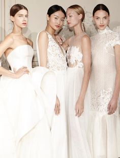 An alle Brides-to-be, die noch ein Brautkleid suchen: Die neue Bridal Couture-Kollektion von Kaviar Gauche präsentiert so einige Traumkleid-Kandidaten! #hochzeitskleid #braut #brautkleid