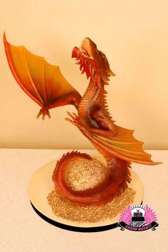 The Desolation of Smaug Dragon Cake - Cake by Cakes ROCK!!! - CakesDecor