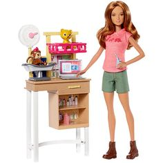 "Barbie Zoo Doctor Playset - Mattel - Toys ""R"" Us"