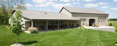 Pole Barn Home with Heated Garage | Lafayette, Indiana | Pole Barn Builder Indiana | FBi Buildings