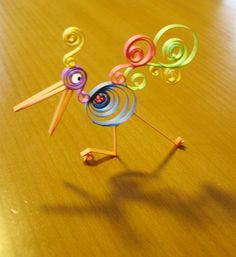 Quilling paper craft. Craft ideas from LC.Pandahall.com