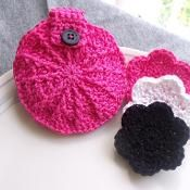 Face Scrubbies with Storage Pouch