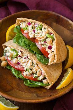 Showmetoyourtardis — foodffs: Tuna and Chickpea Pita Sandwiches...