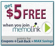 Earn CASH and GIFTS with Memolink - Sweeties Freebies