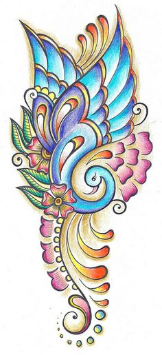 Peacock-Want this for a tattoo! Art Drawings For Kids, Art Drawings Sketches Simple, Colorful Drawings, Pencil Drawings, Drawing Ideas, Peacock Wall Art, Peacock Painting, Mandala Art Lesson, Mandala Drawing