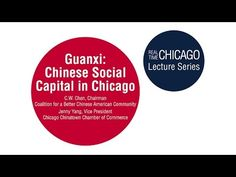 Guanxi: Chinese Social Capital in Chicago   Great Cities Institute