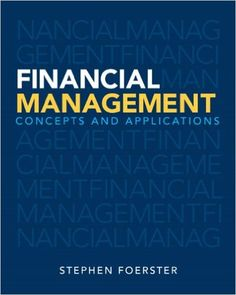 Intermediate financial management 11th edition brigham daves test test bank for financial management concepts and applications foerster 1st fandeluxe Gallery