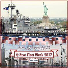dj 5ive Fleet Week 2017 by dj 5ive, NYC on SoundCloud Fleet Week, Dj, Swag, New York, America, New York City, Nyc, Usa