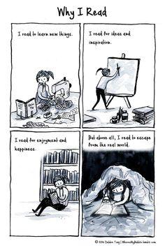 Read to escape!