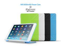 Mifi 8000mAh Power Case for iPad Mini WiFi Version - Mifi case allows iPad Mini Wifi-only version to access 3G network