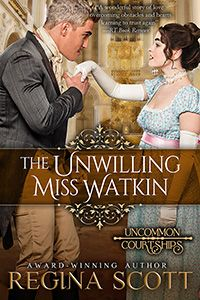 """Read """"The Unwilling Miss Watkin"""" by Regina Scott available from Rakuten Kobo. Notorious rake Jareth Darby is back in London, and everyone is talking. That terrifies Eloise Watkin. I Love Books, Books To Read, My Books, This Book, Relationship Tattoos, Eye Roll, Her Smile, Secret Obsession, Romance Books"""