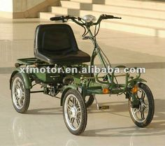 Source 4 wheel green electric bike on m.alibaba.com