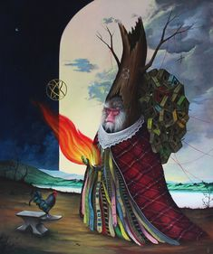 One Self-Taught Artist's Surreal Depictions From A Pagan Fairy Tale World