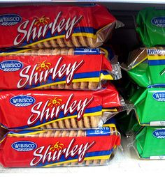 Wibisco Bakery distributes  Shirley biscuits and other baked goods to 75 islands and to the US...Thats all from my island...man! I love being Bajan
