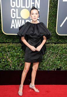Millie Bobby Brown – Golden Globe Awards 2018 in Beverly Hills