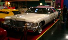 Elvis Presley's Cadillac Station Wagon.