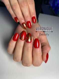 Red Nails, Beauty, Beleza, Red Nail