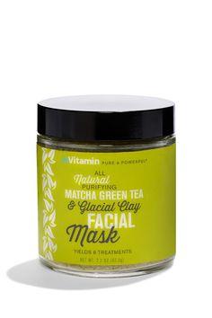 InVitamin Matcha Green Tea Glacial Clay Facial Mask