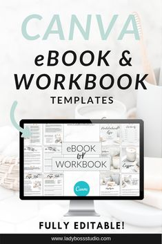 Use these amazing fullyeditable Canva Templates for your next eBook Optin Freebie Workbook course book and so much more You can edit them easily in minutes to suit your b. Web Design, Graphic Design Tips, Tool Design, Media Design, Layout Design, Apps, Business Tips, Online Business, Make Money Online