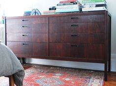 Wood furniture restoration tips :: this is the before picture... the after picture is amazing