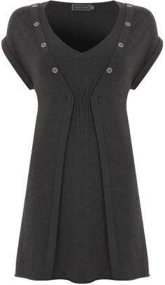 Charcoal Rib Tunic