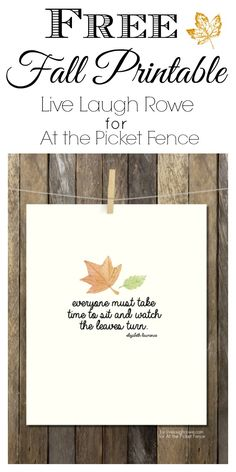 free fall printable from live laugh rowe for atthepicketfence.com