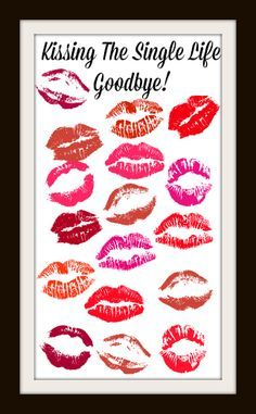 ✔ Kissing The Single Life Goodbye! ✔ This is such a cute idea for your hen night and the perfect keepsake to remember your hen party by. What a great idea for a hen do at home! #Hen #Keepsake