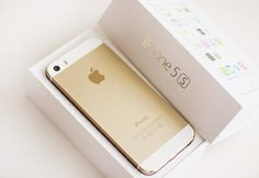 iPhone 5 s gold...........beautiful