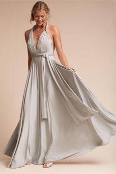 BHLDN Ginger Convertible Maxi Dress in  Bridal Party View All Dresses | BHLDN