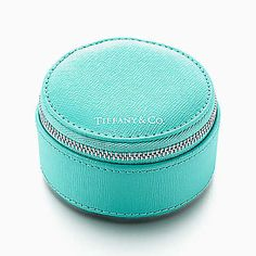 Tiffany & Co. Zip Jewelry Case in Tiffany Blue® | For Engagement Ring and Wedding Band