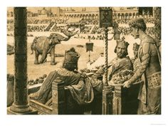 size: Giclee Print: Constantinople Hippodrome Art Print by Fortunino Matania by Fortunino Matania : Artists Imperial State Crown, Historia Universal, Medieval World, Early Middle Ages, Ancient Rome, Ancient Aliens, Ancient Greece, Roman Emperor, European History