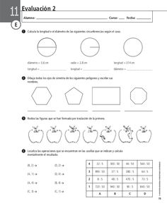 205700177 evaluacion-de-matematica Boarding Pass, Map, Middle School Maths, Math Test, Math Books, Location Map, Cards, Maps, Peta