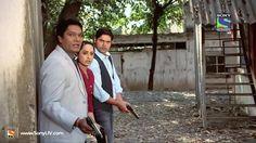 CID: Inspectors Abhijeet, Purvi and Nikhil.