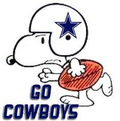 Dallas Cowboys Snoopy