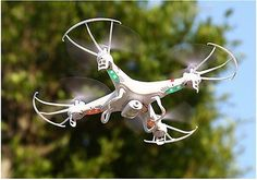 ﹩37.85. X5C-1 2MP HD Camera 2.4Ghz 6-Axis UAV RTF Quadcopter Drone UFO Gyro RC US   Color - White, Item type - quadcopter, Remote control frequency - 2.4GHz, Material - ABS, Fuel Type - Electric, Product Line 1 - quadcopter drone camera, Product Line 2 - Toy rc helicopter camera, Product Line 3 - remote control helicopter  airplane, Product Line 4 - quadcopter kit, Remote Control - Battery is not included, Required Assembly - Ready to Go/RTR/RTF (All included), UPC - 714449609990