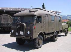 Army History, Swiss Army, Old Trucks, Military Vehicles, Recreational Vehicles, Switzerland, America, Cars, Nice