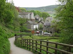 Castleton Village, Derbyshire  One of the prettiest villages on earth...