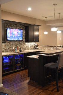 White Lake, Michigan - transitional - basement - detroit - by Finished Basements Plus