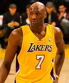 Lamar Odom Pictures ( image hosted by en.wikipedia.org ) #LamarOdomNetWorth #LamarOdom #celebritypost