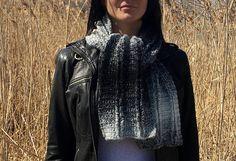 Easy Scarf CROCHET PATTERN Womens Crochet Scarf Pattern